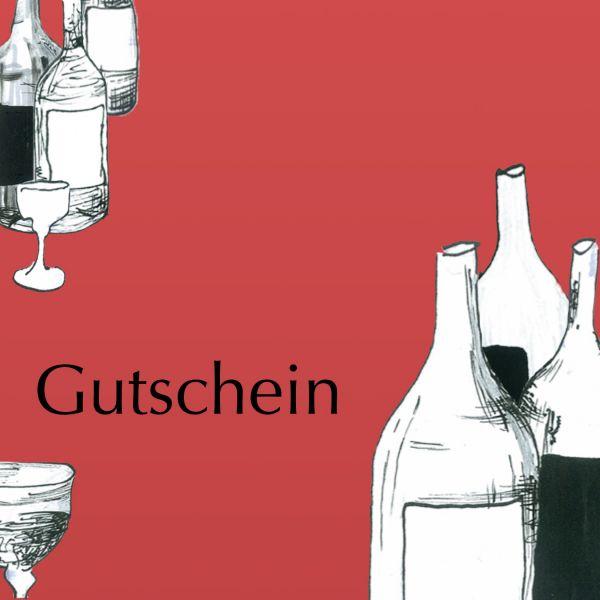 """Gutschein """"Rotweine"""""""