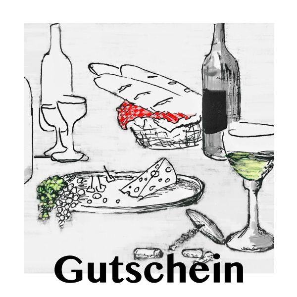 Gutschein geführte Weinprobe