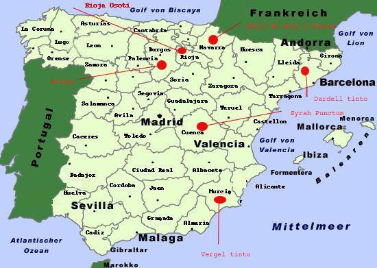 Spanische Weinreise