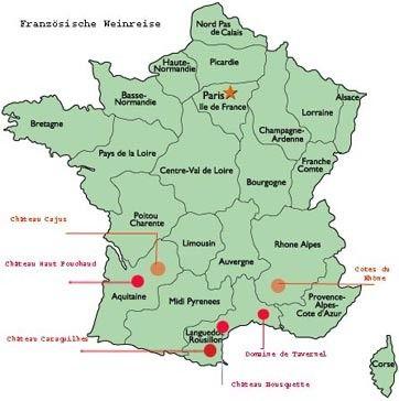 Französische Weinreise