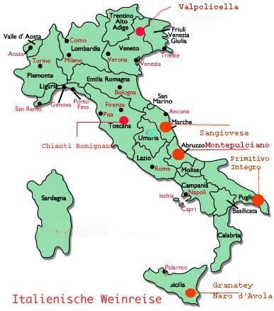 Italienische Weinreise