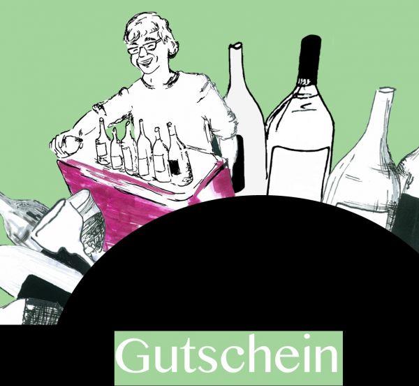 Gutschein Weinprobe am Roten Tresen